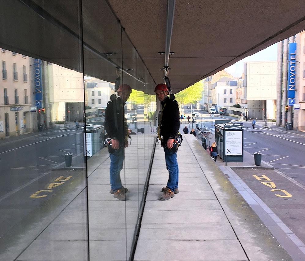 Altiwest travaux en hauteur et maintenance ligne de vie Rennes Bretagne