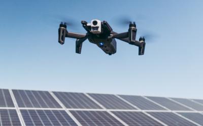 Un drone pour contrôler les lignes de vie